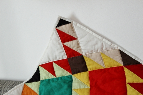 oakshott, quilt, patchwork, navajo, quilt along, triangles, carrés