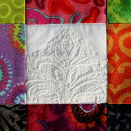 nine-patch, quilt, patchwork, sac, bag, jean, recyclé, batik
