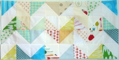 malka, dubrawsky, zig-zag, quilt, quilting, cutter, carrés, triangles, patchwork, fabrics, tissus