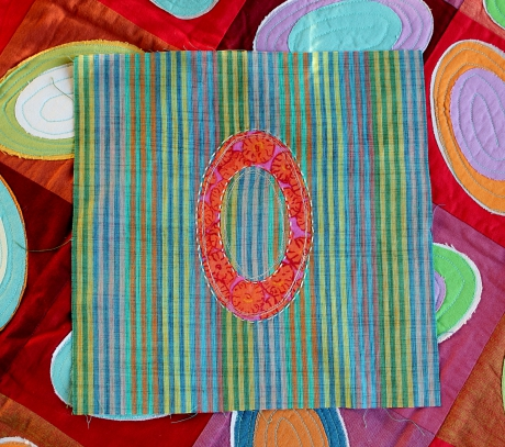 pi, pi project, patchwork, quilt, ellipses, math